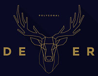 FREE - Polygonal Deer Collection