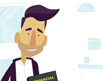 Destination Financial Planning animation