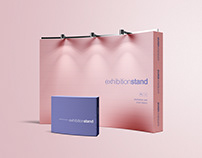 Simple Exhibition Stand Mockup