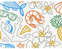 Sea Shore Pattern