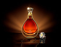 L'Essence de Courvoisier 3D Visualization