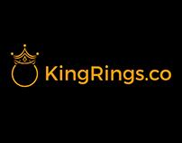 King Ring Logo Design