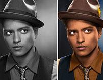Bruno Mars Digital Recolor (2015)