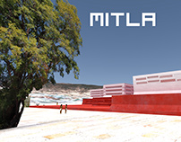 Mitla - Grupo de las Columnas