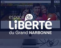 ESPACE DE LIBERTÉ : Site web