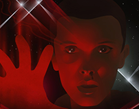 Artwork featuring Eleven from ST