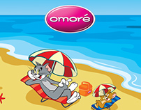 Omore - Tom and Jerry Digital Campaign 2015