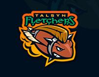 Talsyn Flethers Blood bowl team logo.