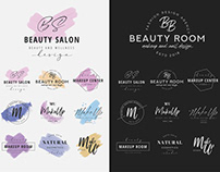 Free Beauty Salon Logo Set