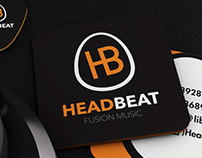 HeadBeat Fusion Music - Brand Identity