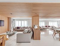 Apartamento ADK by Schuchovski Arquitetura