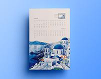 The Coloring Calendar