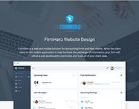 FirmHero Website Design