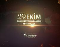 Adana Gündoğdu Koleji İçin Hazırladığım 29 Ekim Videosu