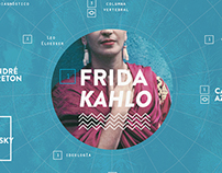 Frida Kahlo web concept