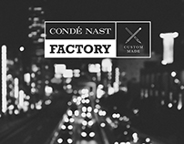Visual Identity & Web Design - Condé Nast Factory