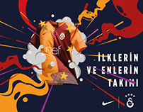 Galatasaray SK new jersey ad