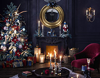 DARK AND VELVET Christmas Tale