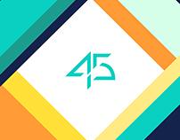 45 Studios Branding