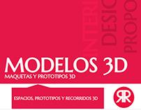 Maquetas y Prototipos 3D