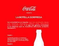 Botella Sorpresa / Coca Cola / El Ojo de Iberoamérica