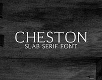 Cheston - Free Slab Serif Font