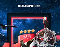 Al-Ahly SC #CHAMP41ONS 2019