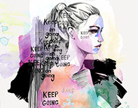 'Keep Going' - illustration -