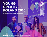 Young Creatives Cannes PL - Nominated poster