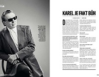 Magazine column for fashion Bible ForMen