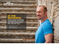 New Personal Site for Ron Carpenter