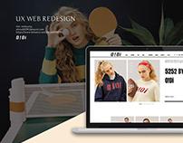 UX WEB REDESIGN-O!Oi