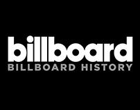 BILLBOARD HISTORY