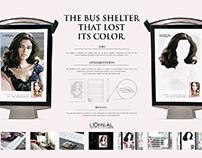 L'Oréal Excellen - The Bus Shelter that lost its color.