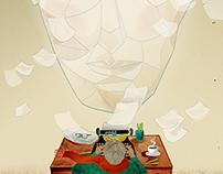 WRITE MAGAZINE / COVER ILLUSTRATION