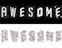 AWESOME Lettering Exhibit