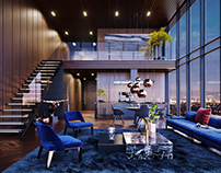 Luxury Penthouse in Los Angeles, USA | CGI |