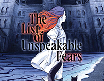 """Book cover """"The List of Unspeakable Fears"""""""