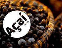 Açai Mag logo and presentation