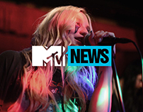 MTV News Redesign