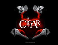 Cigar Town Logo Presentation