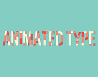 Animated Type - Bebas Neue