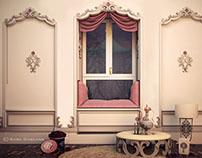 Classic corner - Girly Bedroom