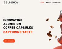Website voor Belmoca