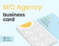SEO Agency Business Card Templates SEO Agency Business