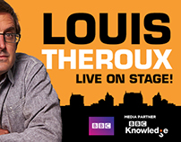 Louis Theroux Cover Photo + Profile Photo.