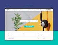 Courator system website (2018)