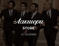 Luxury Store UI/UX design