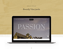 Boordy Vineyards E-commerce Website Redesign