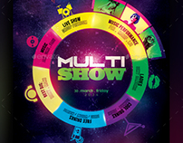 Multi Show Flyer Template